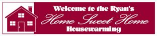 Housewarming New Home Banner Design 3